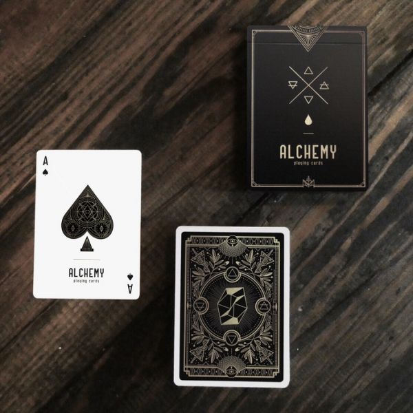 Humaneco - New ALCHEMY deck of cards, by my friend Alexandre !
